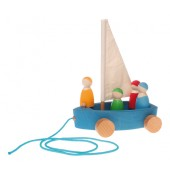 Grimms Boat With Sailors - OUT OF STOCK