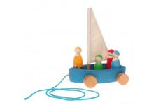 Grimms Boat With Sailors