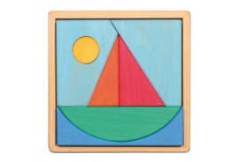 Sailboat and Sun Puzzle - OUT OF STOCK