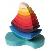 Grimms Boat Stacking Toy