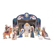 Melissa & Doug Wooden Nativity Set - SALE! WAS £19.99