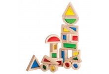 20-piece Jr. Rainbow Block Kit