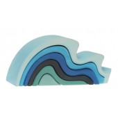 Grimms Water Wave Stacking Toy - Large size OUT OF STOCK
