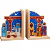 Fairtrade Nativity Bookends - SALE! WAS £17.99