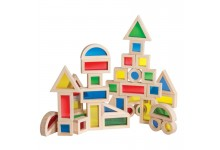 40-piece Jr. Rainbow Block Kit